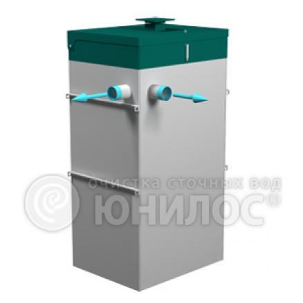 Септик Юнилос Астра 3 - принудительный водоотвод